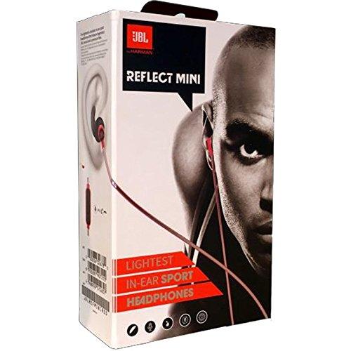 jbl reflect mini bluetooth in ear sport headphones black. Black Bedroom Furniture Sets. Home Design Ideas