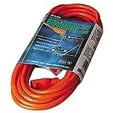 CCI 02307 Vinyl Outdoor Extension Cord 25ft 13 Amp Orange