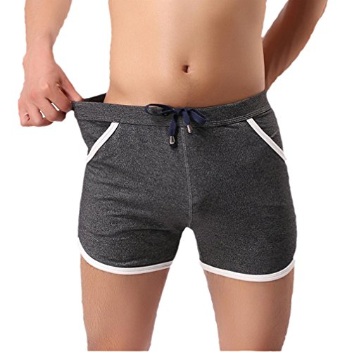 Men's Swimwear, Bokeley Fashion Cotton Swim Short Beach Underwear Sport Shorts Pants (XL, - Styles Swimwear Mens