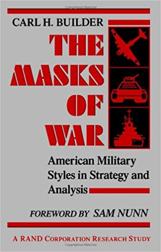 ,,FULL,, The Masks Of War: American Military Styles In Strategy And Analysis: A RAND Corporation Research Study. region Mohammed Deans Estados Partners