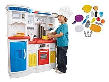 little tikes kitchen prep n serve amazon co uk toys games rh amazon co uk