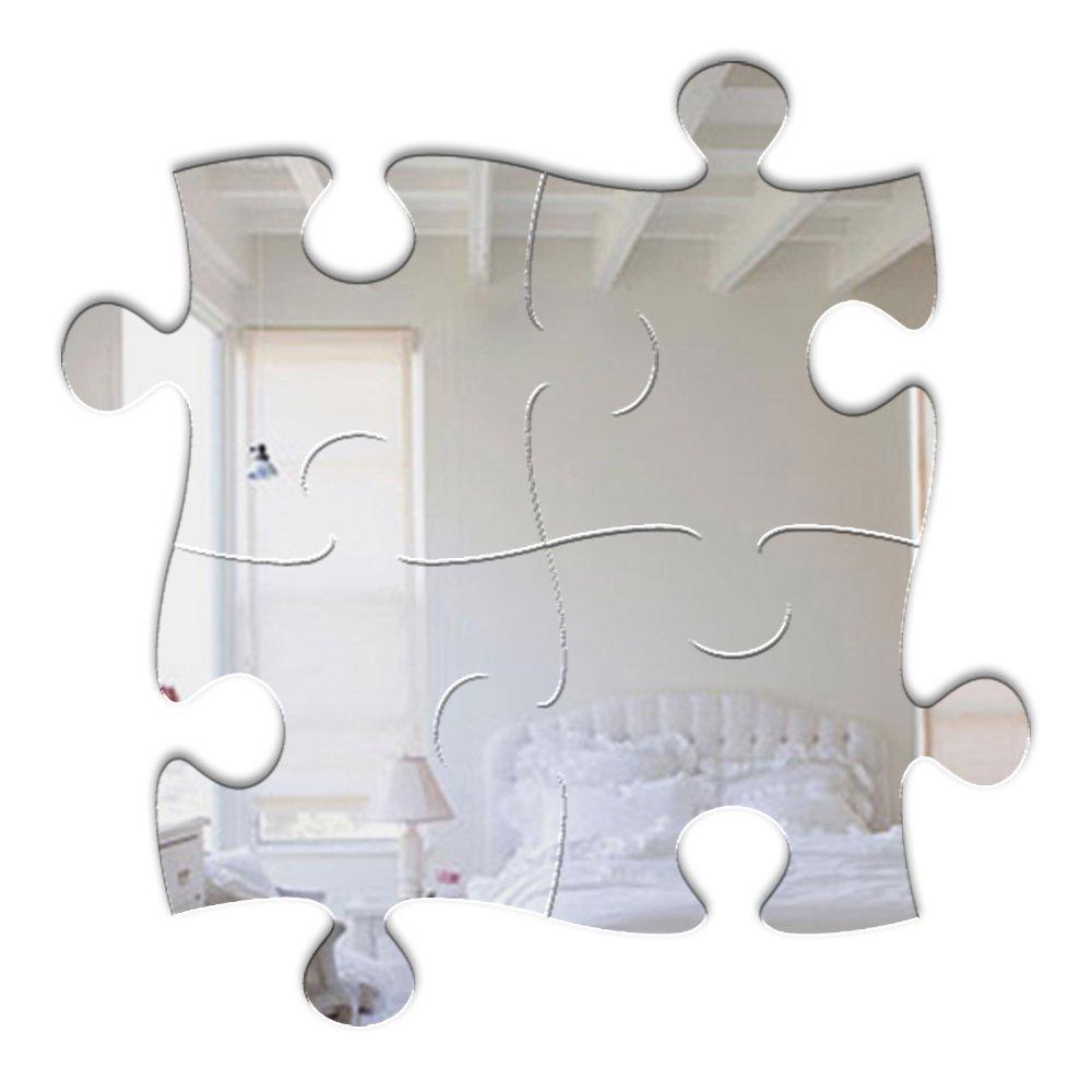 Mungai Mirrors 61cm Jigsaw Acrylic Mirror 0336