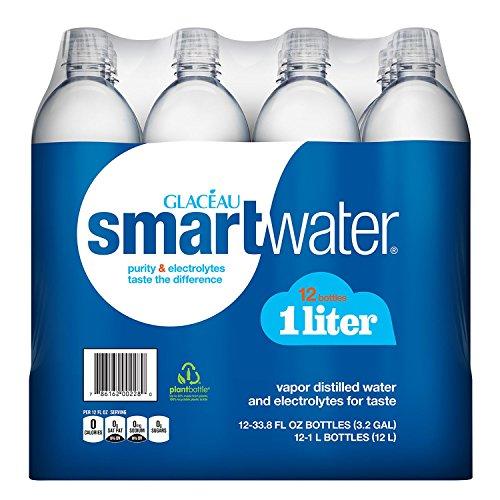 Glaceau SmartWater Water (1 L bottles, 12 pk.)