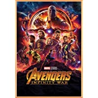 1art1 The Avengers - Infinity War, Locandina Poster Stampa (91 x 61cm)