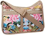 LeSportsac Deluxe Everyday Shoulder Bag,Belize,One Size, Bags Central