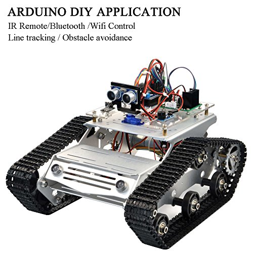 Review KOOKYE Robot Car Chassis