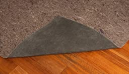 6\' X 9\' Ultra Plush Non-Slip Rug Pad for Hard Surfaces and Carpet