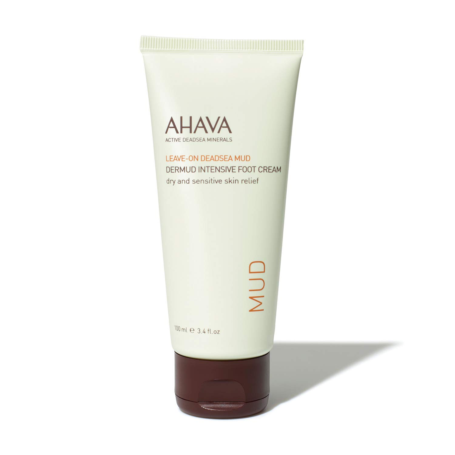 AHAVA Dermud Intensive Foot Cream, 3.4 Fl Oz: Premium Beauty
