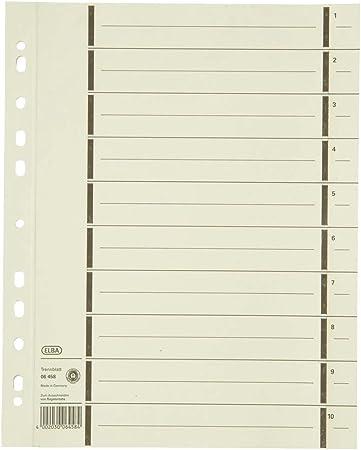 2 x 100 Falken Trennblätter für DIN A4 chamois 240 x 300 mm