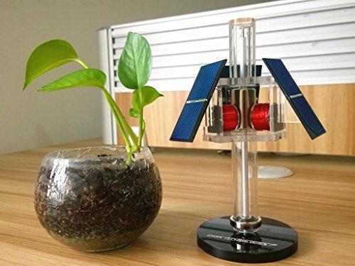 Sunnytech Solar Mendocino Motor Magnetic Levitating Educational Model Vertical Stand QZ05 by Sunnytech (Image #5)