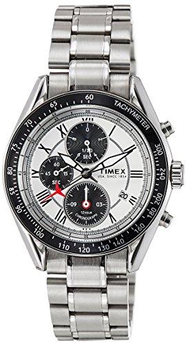 Timex E Class Chronograph Silver Dial Men #39;s Watch   NO03