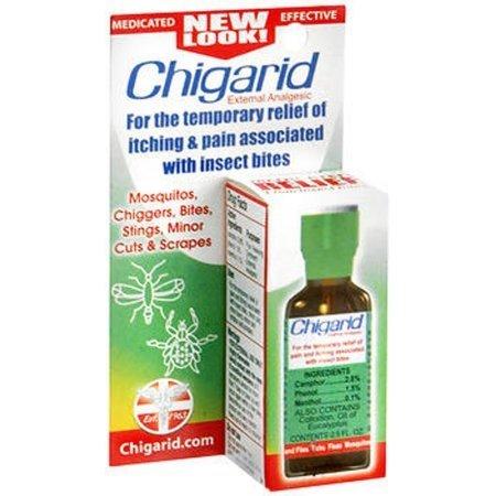 Chigarid External Analgesic, 0.5oz Each (Pack of 4)