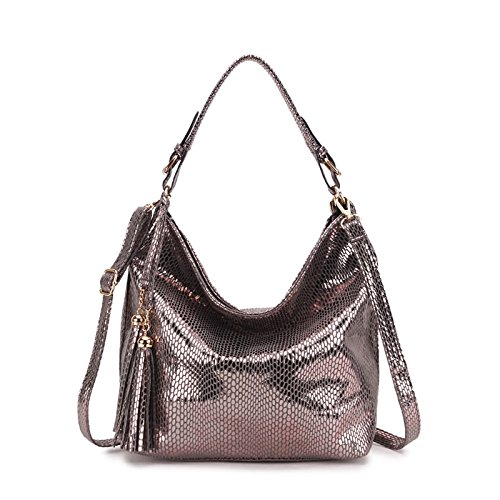 Federation Big Serpentine Shoulder Women Gray Hobo Handbag Ladies Aassddff Female Bag Women Russian Tassel Crossbody Bags Bags aUnWv0z