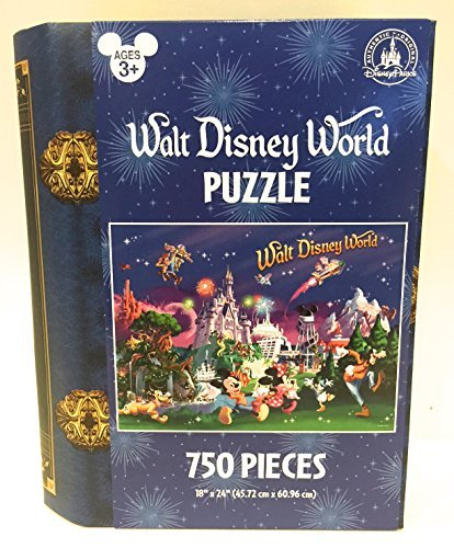 Walt Disney World at Night Storybook 750 piece Puzzle
