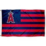 Los Angeles Angels Stars and Stripes Nation 3x5 Flag