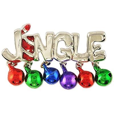 Women's New Xmas Cute Christmas Jingle Brooch Pin supplier