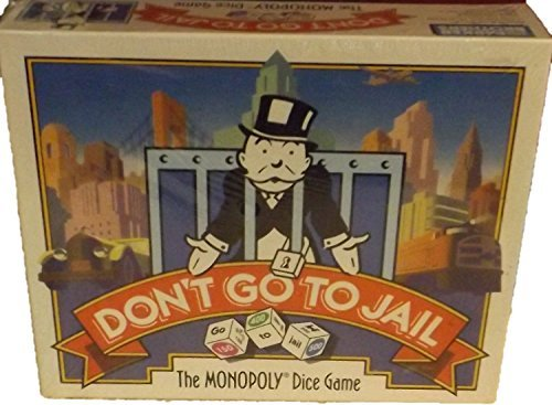 Don't Go to Jail: The Monopoly Dice Game (1991) by Parker Brothers