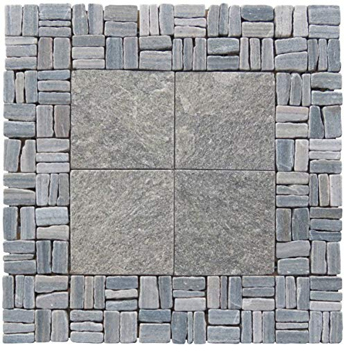 In-Trend Tile LS018-G Tile, 12 x 12-Inches, Green by In-Trend Tile (Image #2)
