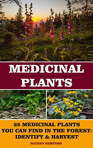 Medicinal Plants: 25 Medicinal Plants You Can Find In The Forest: Identify & Harvest: (Medicinal Herbs, Alternative Medicine) by [Sempers, Nathan ]