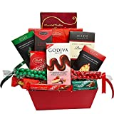 Large Christmas Gift Basket Filled with Wonderful Gourmet Sweets