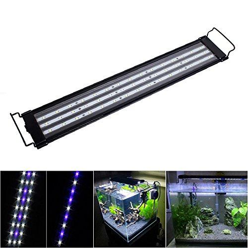 SPEED 30W Acuario Luminaria LED Luces De Iluminación De Aluminio Azul Blanco/RGB