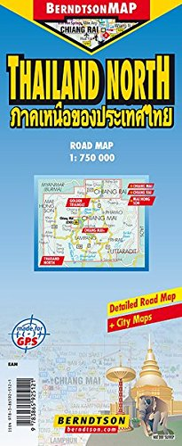thailand-north-1-750-000-chiang-mai-chiang-mai-chiang-rai-golden-triangle-mae-hong-son-time-zone-berndtsonmap-road-map-landkarte-folded-map-faltkarte