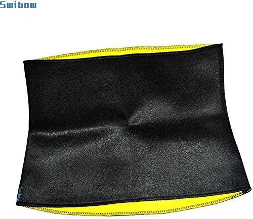 Waist Trainer Trimmer Belt for Weight Loss Neoprene Slimming Belt Sauna Fat Burner Sweat Corset Body Cincher for Women & Men 4