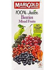 MARIGOLD 100% Juice, Berries Mixed Fruits, 1L