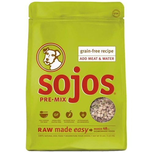 Sojos Pre-Mix Natural Dry Raw Freeze Dried Dog Food