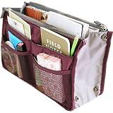 Puregadgets© Womens Handbag Purse Travel Organiser Large Bag Liner Ladies