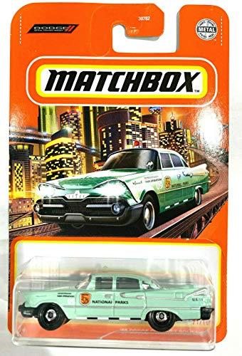 Matchbox '59 Dodge Coronet Police Car 71/100 Pastel Green