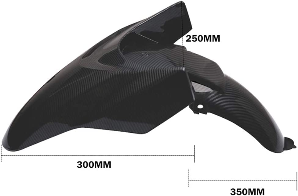 Nrpfell Nondestructive Installation Motorcycle Front Hugger Mudguards Fairing for PCX ADV150 2018 2019 2020