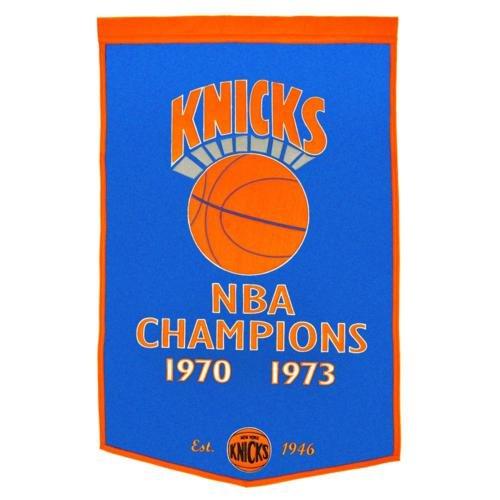 New York Knicks Dynasty NBA Finals Championship Dynasty Banner - with hanging - Banner Dynasty Nba