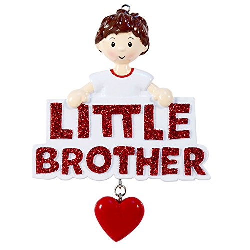 Little Brother Personalized Christmas Tree (Little Brother Ornament)