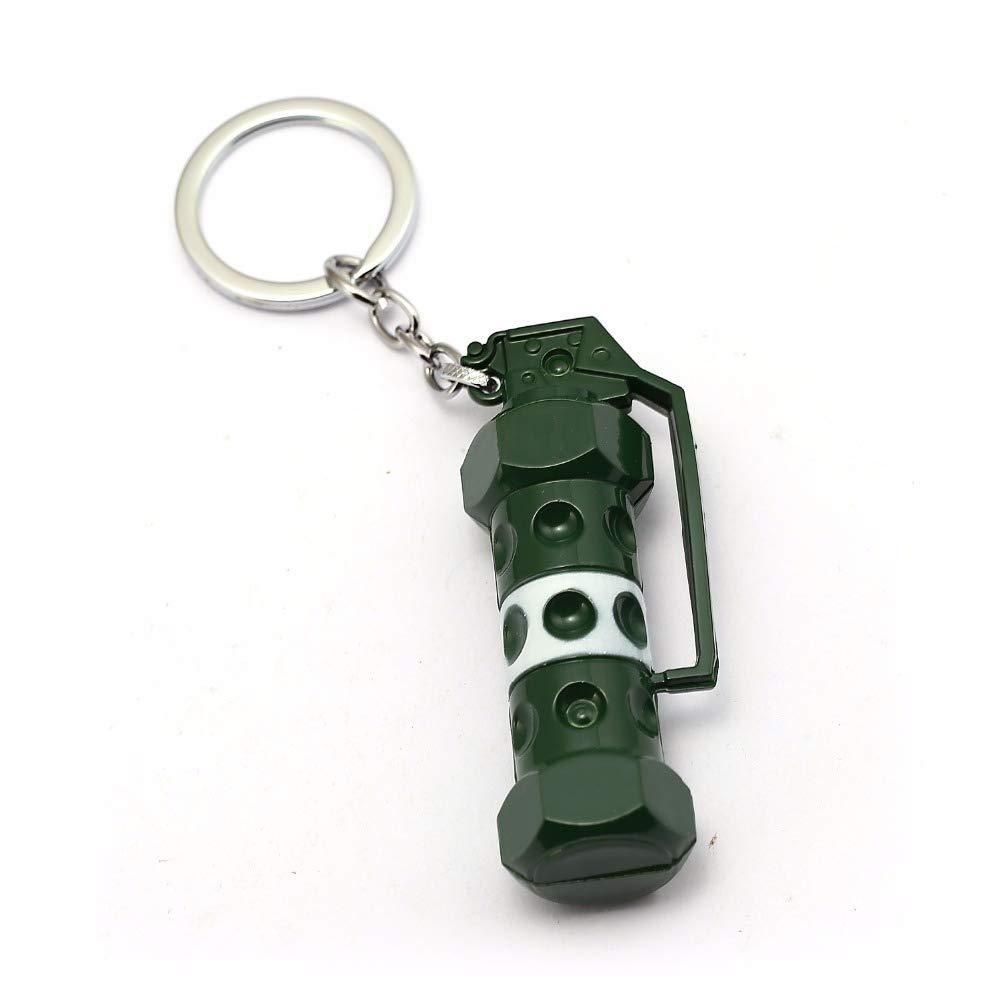 Amazon.com: Keychain Game PUBG Keychain Heavy Weapon Pendant ...