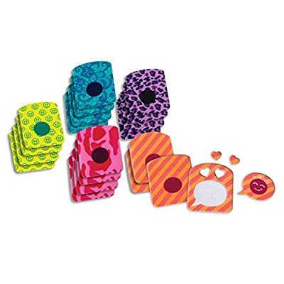Text Cool Emoji Maker Stickers (Refill): Toys & Games