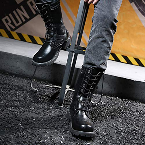 Combattimento Da Clming Top Stivali Pelle Yra Stivali Boots Uomo Stivali Trekking Da Black Calzature Da Per Da Da Uomo Uomo Boots In Cowboy Army Desert Zqtnx8n0