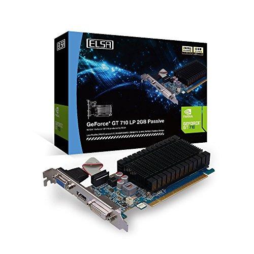 Elsa GeForce GT 710LP GB Passive Graphics Board vd6124GD710-2gerlp - Graphics Computer Elsa Cards