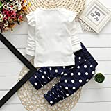 Cute Toddler Baby Girls Clothes Set Long Sleeve
