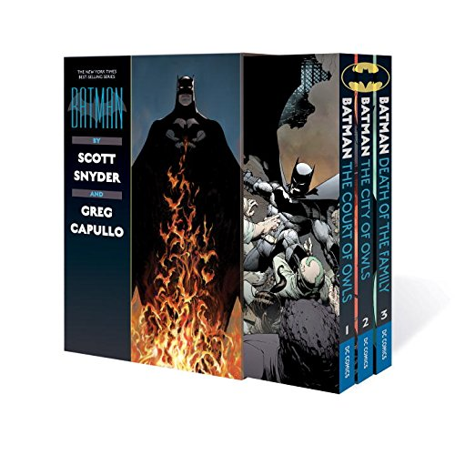 Batman by Scott Snyder & Greg Capullo Box Set at Gotham City Store