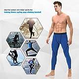 Roadbox Men's Compression Pants - Base Layer Cool