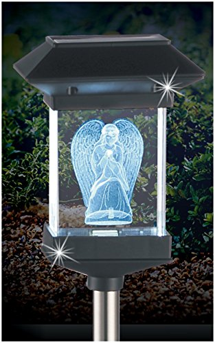 Angel Solar Light For Graves