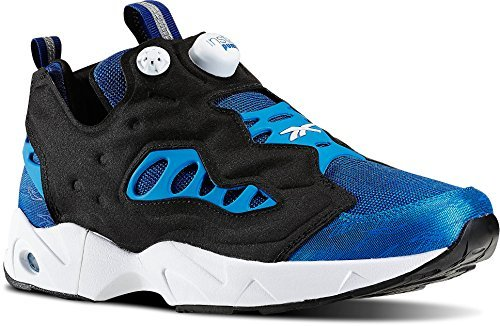 Reebok Mens Instapump Fury Road Running Shoe Royal/Blue/White/Black (13) (Reebok Men Pump)