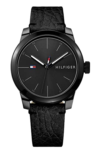 bfcce15d48f Tommy Hilfiger Mens Analogue Classic Quartz Watch with Leather Strap  1791384  Amazon.co.uk  Watches