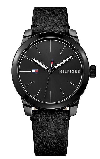Tommy Hilfiger Reloj Análogo clásico para Hombre de Cuarzo con Correa en Cuero 1791384: Amazon.es: Relojes