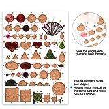TUPARKA 19 Pcs Paper Quilling Kits 45 Colors 900