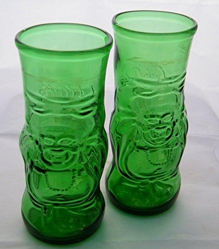 Glass Bottles Murano (Buddha Beer Glasses Hand blown from original Beer bottles)