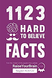 1123 Hard To Believe Facts: From the Creator of the Popular Trivia Website RaiseYourBrain.com (Paramount Trivi