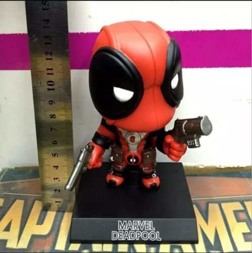 [Deadpool Action Figure Marvel X Men Legends Universe Bobble Head New Red Toy Box] (Real Godzilla Costume)