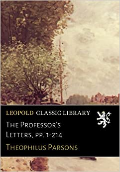 The Professor's Letters, pp. 1-214